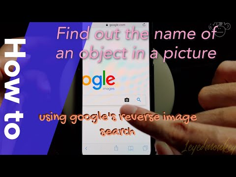 How to find something on google using a picture