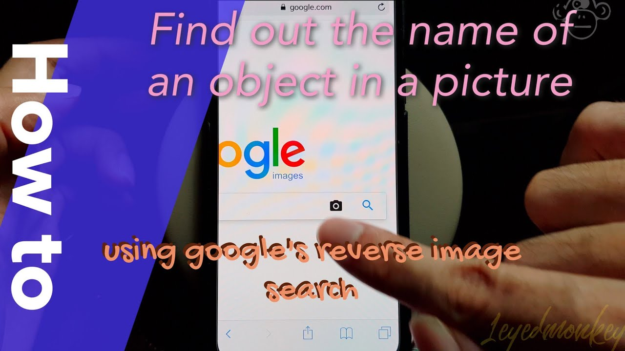 How To Reverse Search An Image In Google Using Iphone Youtube