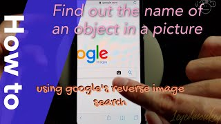 How to reverse search an image in google using iphone