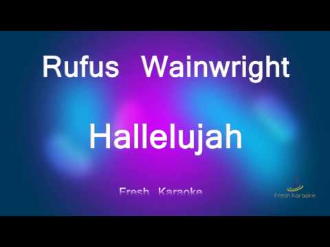 Rufus Wainwright - Hallelujah (Karaoke with Lyrics)