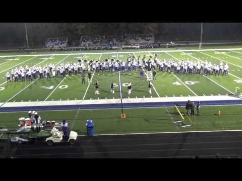 Triway High School Marching Band Performance Oct. 16, 2015 at CVCA