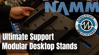 NAMM 2019 Ultimate Support Modular Desktop Stands