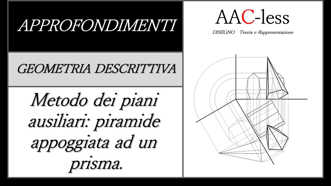 Metodo dei piani ausiliari piramide appoggiata ad un for Piccoli piani di un piano