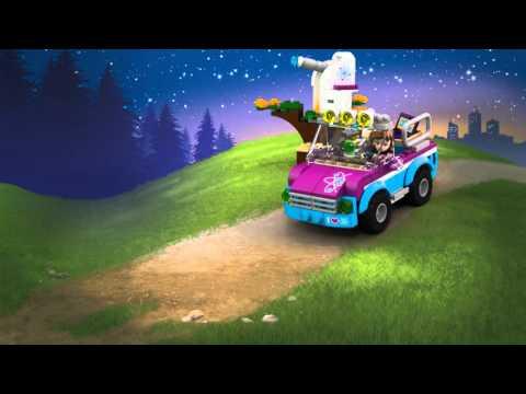 Olivia's Exploration Car - LEGO Friends - 41116 - Product Animation