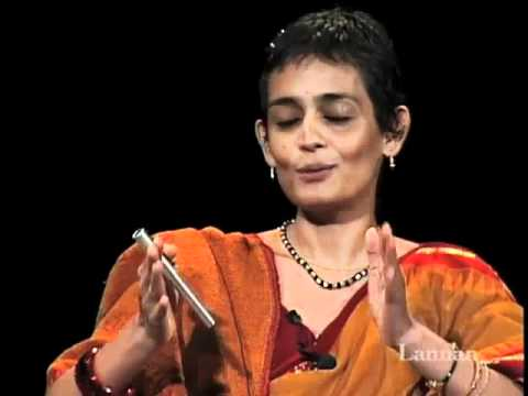 Arundhati Roy With Howard Zinn Conversation18 September 2002