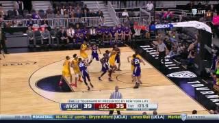 Men's Basketball: USC 78, UW 73 - Highlights 3/8/17