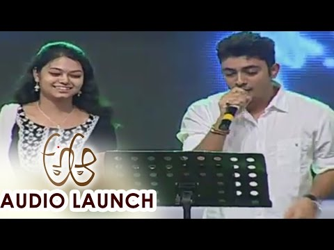 Yaa Yaa Song Live Performance atAa Audio Launch || Nithiin, Samantha