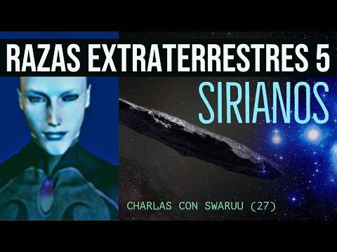 RAZAS EXTRATERRESTRES En 5D (5) -   SIRIANOS (Mensaje Pleyadiano-TAYGETA)