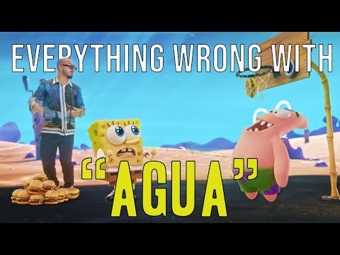 """Everything Wrong With Tainy, J Balvin – """"Agua (Music From """"Sponge On The Run"""" Movie/Official Video)"""""""