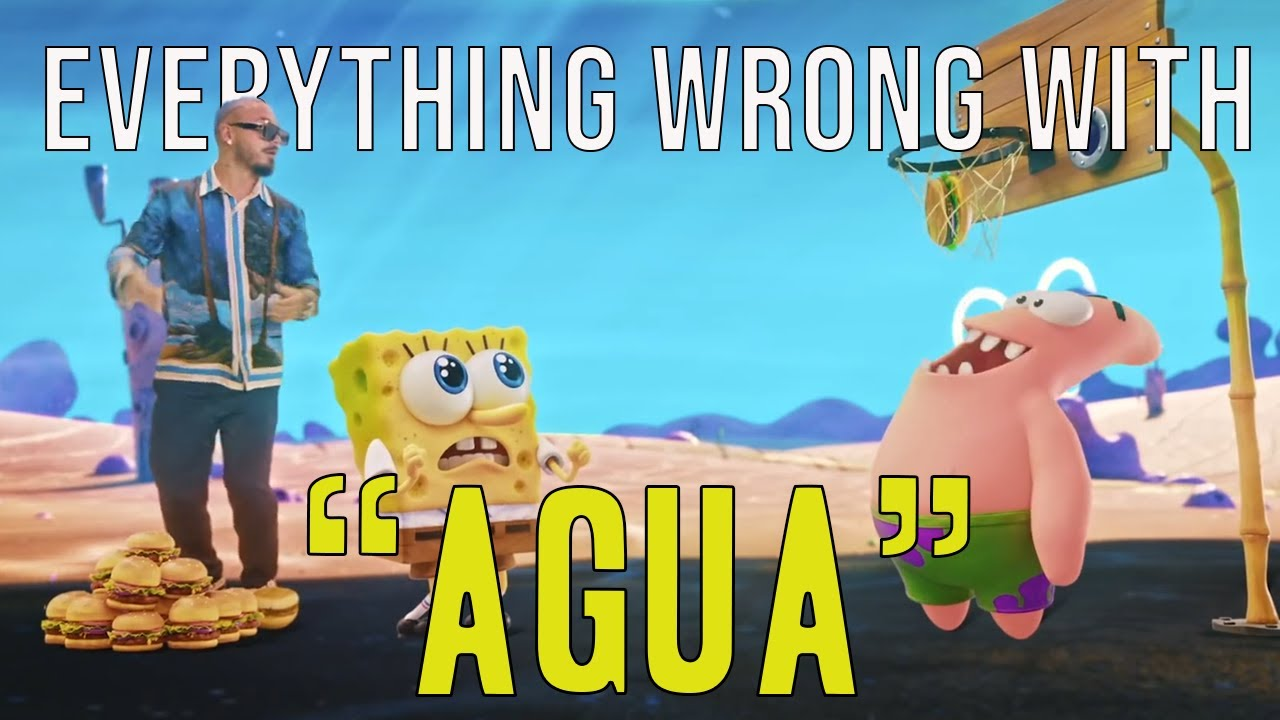 """Everything Wrong With Tainy, J Balvin - """"Agua (Music From """"Sponge On The Run"""" Movie/Official Video)"""""""