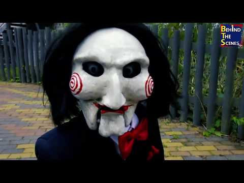 Jigsaw Horror Prank  Tobin Bell Freaks Out