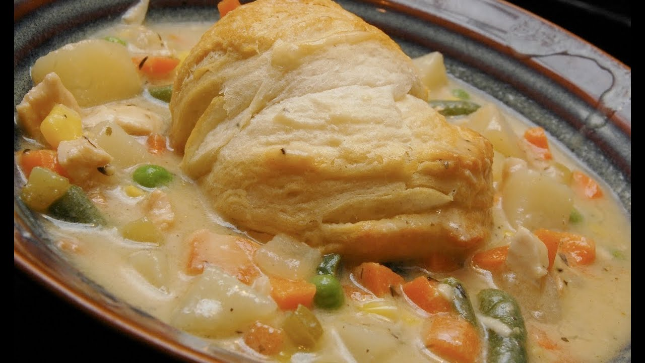 Southern Chicken Pot Pie With Biscuit Crust Organic