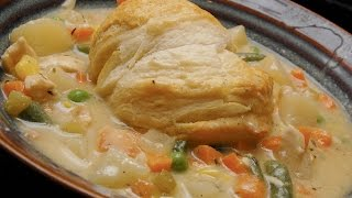 Southern Chicken Pot Pie With Biscuit Crust - Organic