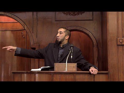 My Thoughts on Paris Shooting - Khutbah by Nouman Ali Khan