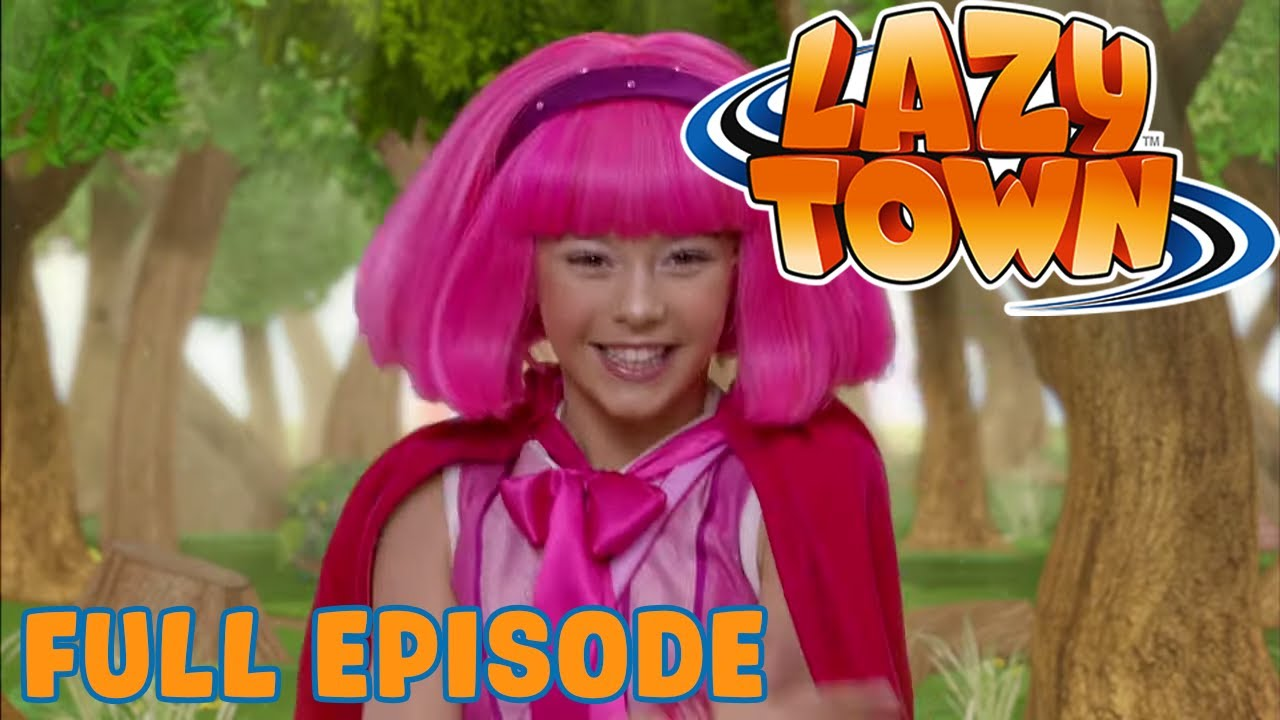 Lazy Town | Little Pink Riding Hood | Full Episode