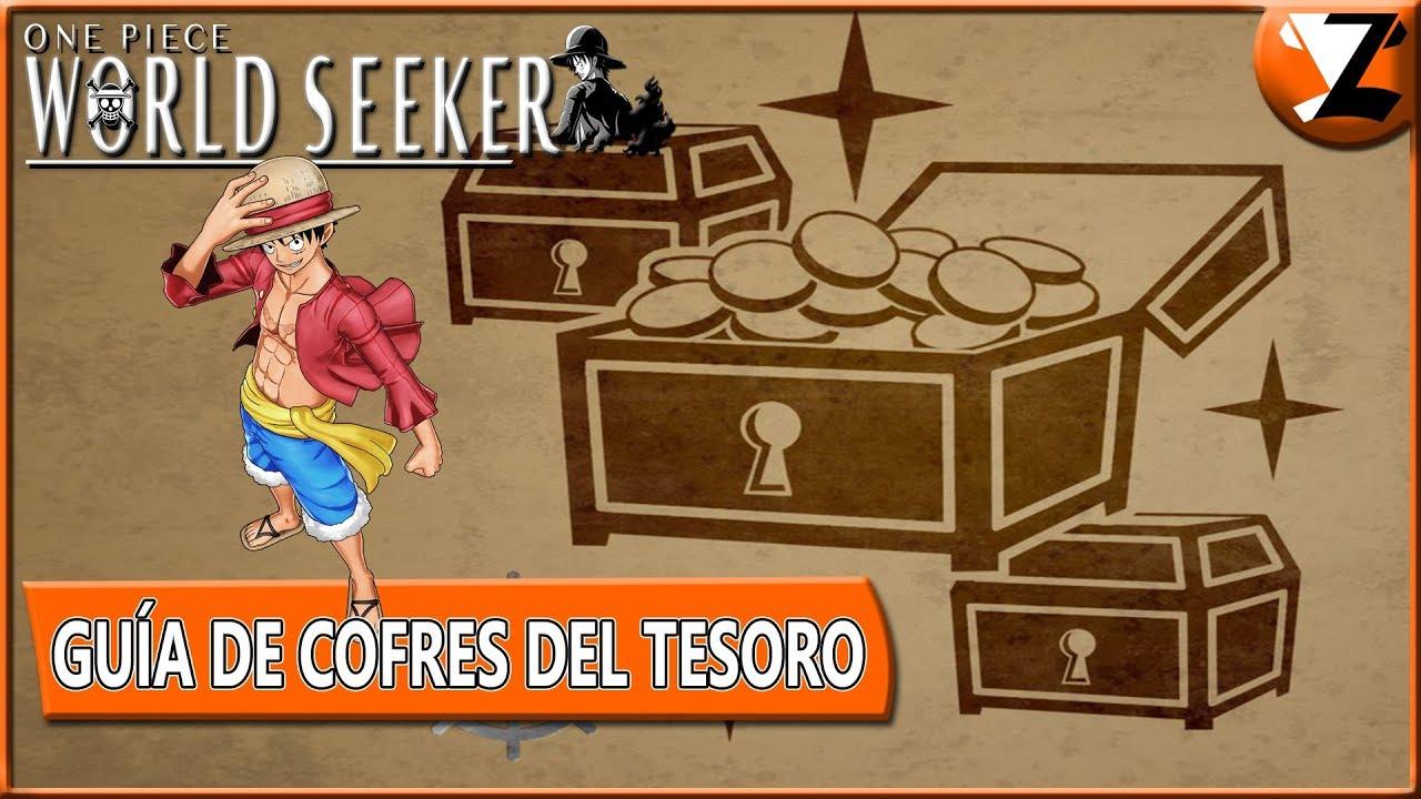 One Piece World Seeker Mappa Del Tesoro