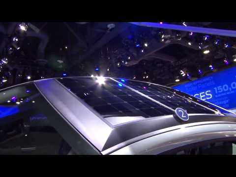 Ford C MAX Solar Energy Concept