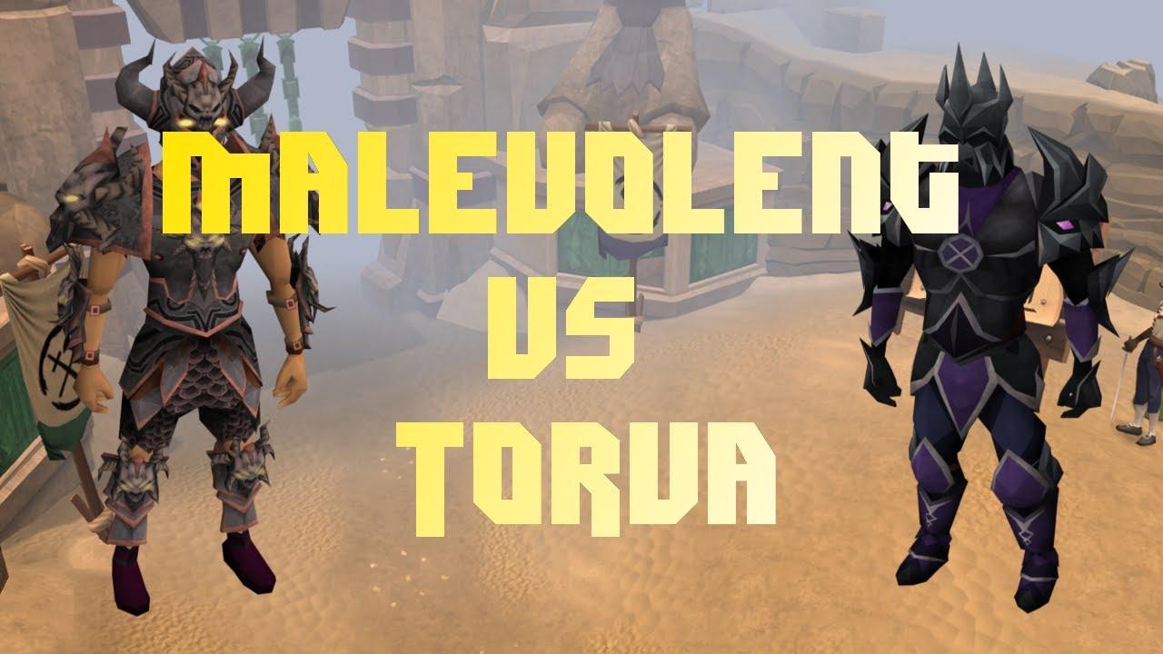 Runescape 3 - Malevolent vs Torva - Armor Comparison 2015 ...