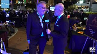 Speed Dating at the ISS Gala 2018 After Party with Martin Redmayne of The Superyacht Group