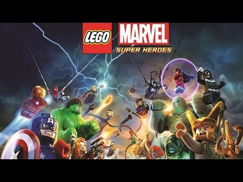 "LEGO Marvel Super Heroes ""Sobrecarga"" Pelicula Completa Español Latino"