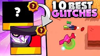 Star Power Glitches! - The 10 Best SP Glitches In Brawl Stars! - Pt. 1
