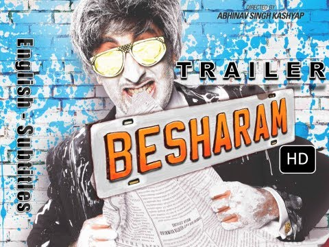 BESHARAM Official Trailer | English Subtitles | Ranbir Kapoor,Pallavi Sharda