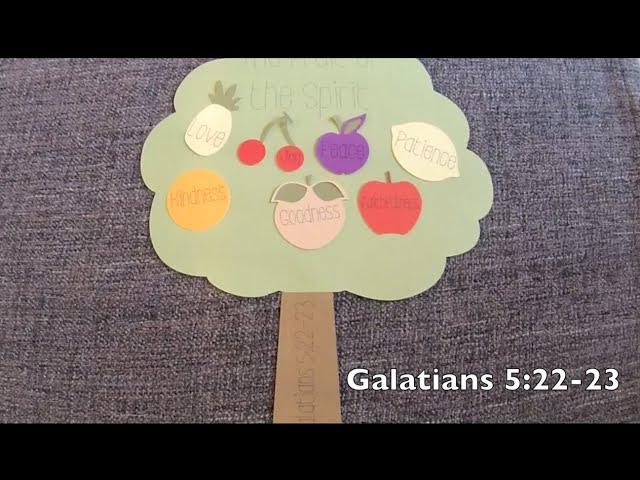 Fruit of the Spirit - Goodness & Faithfulness