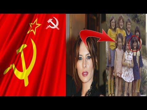 ASÍ  VIVÍA MELANIA TRUMP EN LA UNIÓN SOVIÉTICA
