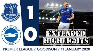 EXTENDED HIGHLIGHTS: EVERTON 1-0 BRIGHTON | RICHARLISON ON TARGET AS VAR RULES OUT DCL STRIKE