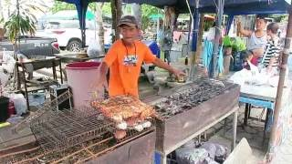 Thai Fish Markets – Cooking Fresh Seafood - Bangkok Street Food