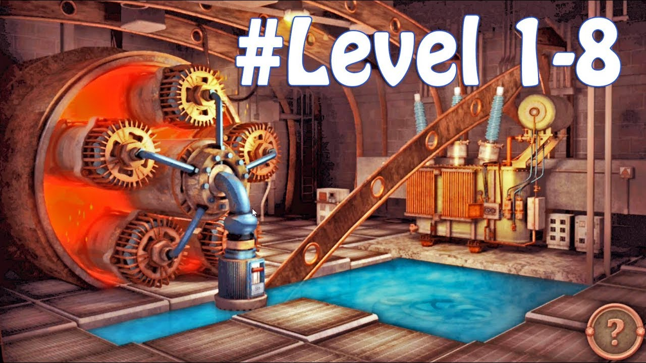 Escape Machine City Walkthrough All Free Level 1 - 8