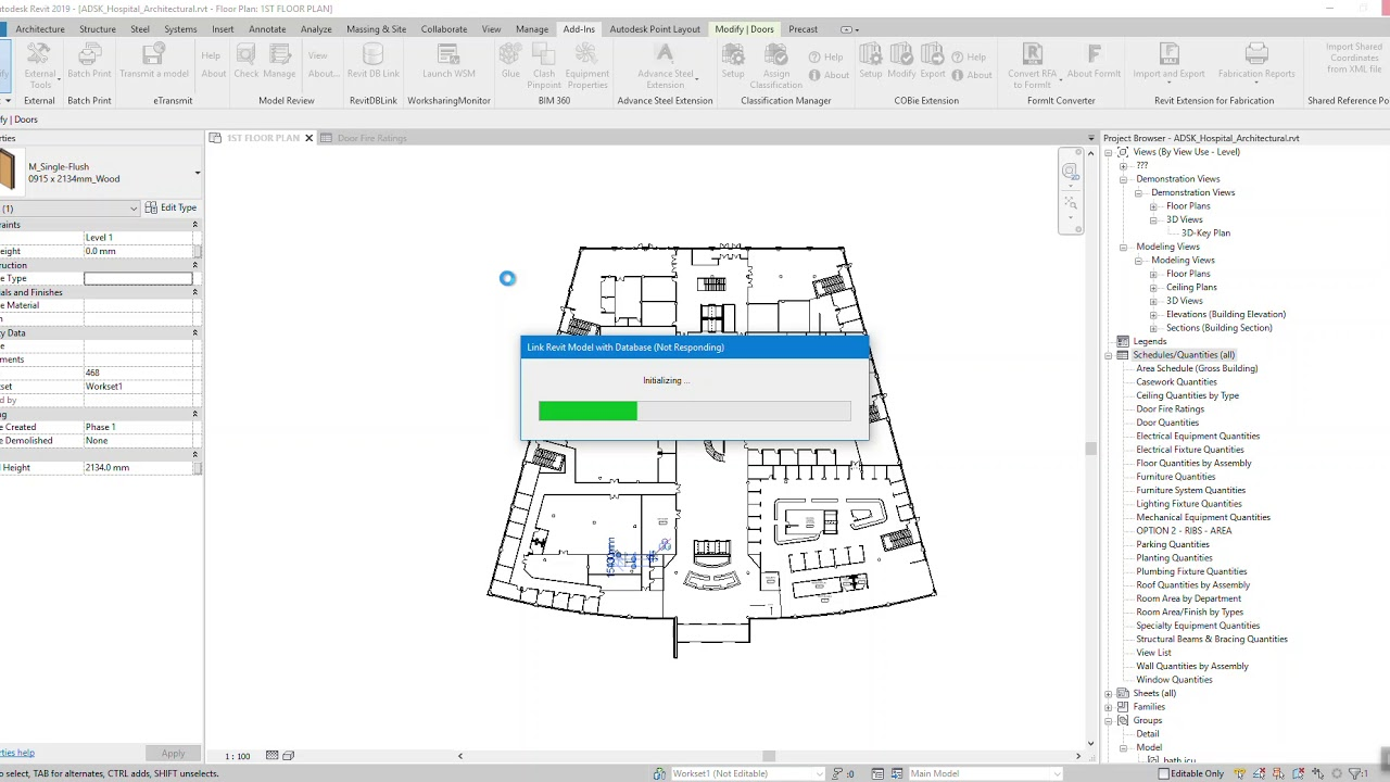 Revit DB Link and Power BI in BIM 360