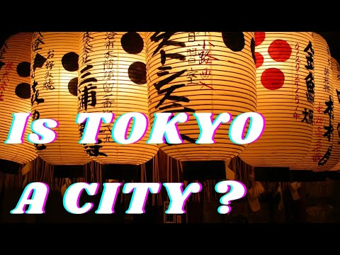 Why Tokyo Isn't A City?