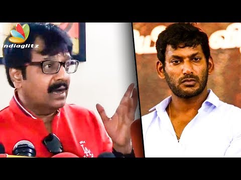 Tamil Cinema Faces a Downfall Because of Few People : Vivek Speech | Film Industry Strike