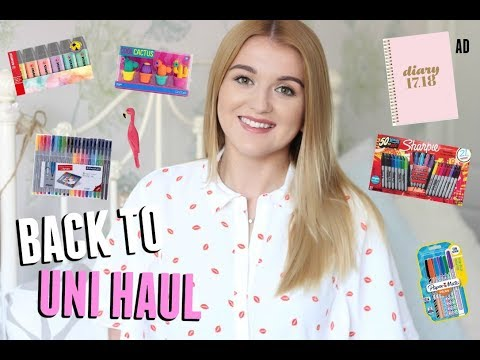 HUGE Back to School Haul & Giveaway | AD