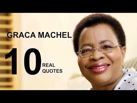 Graça Machel 10 Real Life Quotes on Success | Inspiring | Motivational Quotes