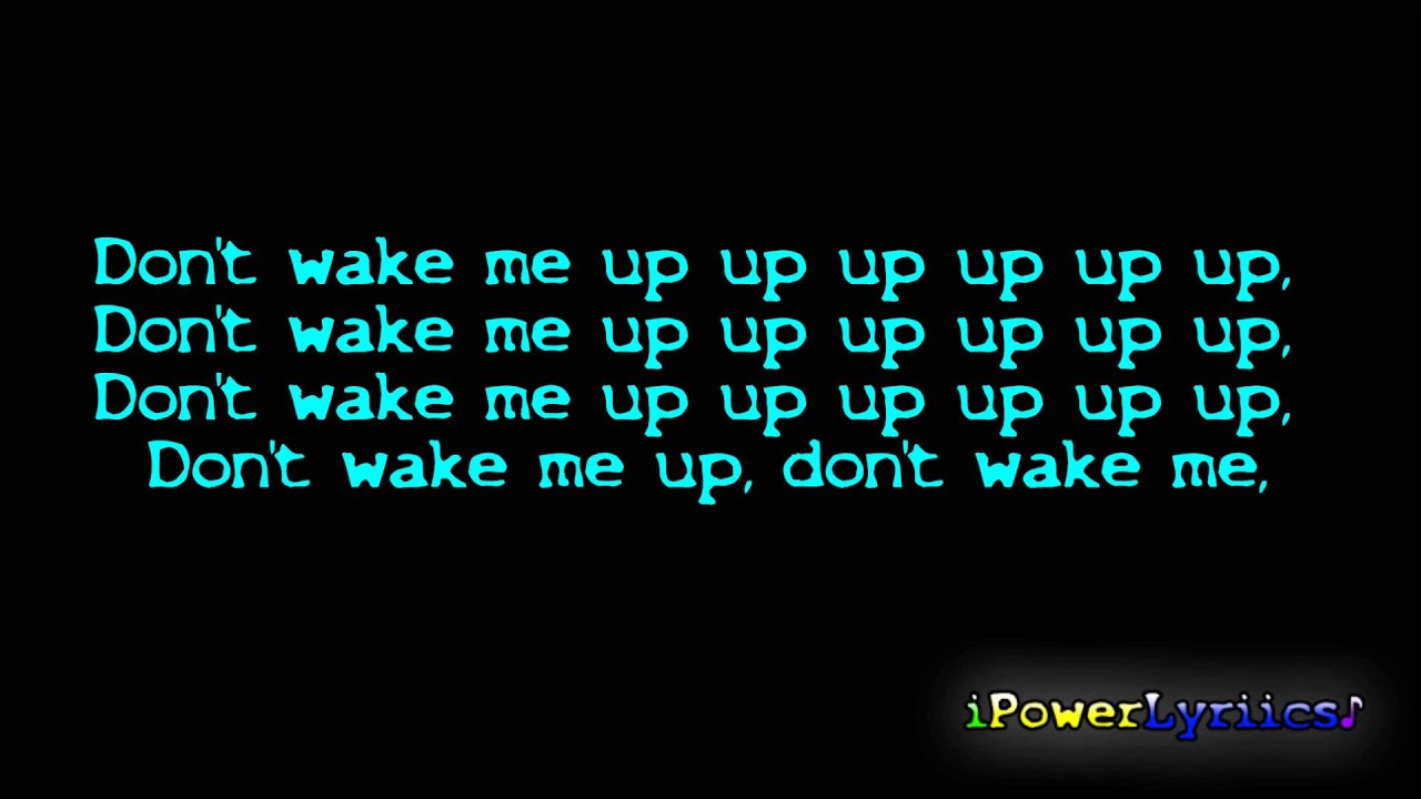 Download Chris Brown Don't Wake Me Up Official Lyrics Video HQ HD
