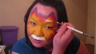 Kitty Cat 1 - Face painting tutorial Thumbnail