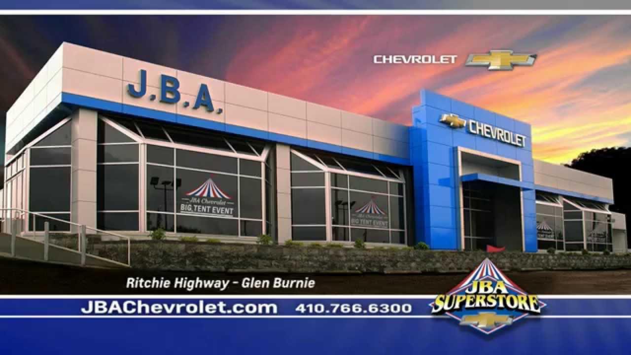 the big tent event in glen burnie at jba chevrolet youtube. Black Bedroom Furniture Sets. Home Design Ideas
