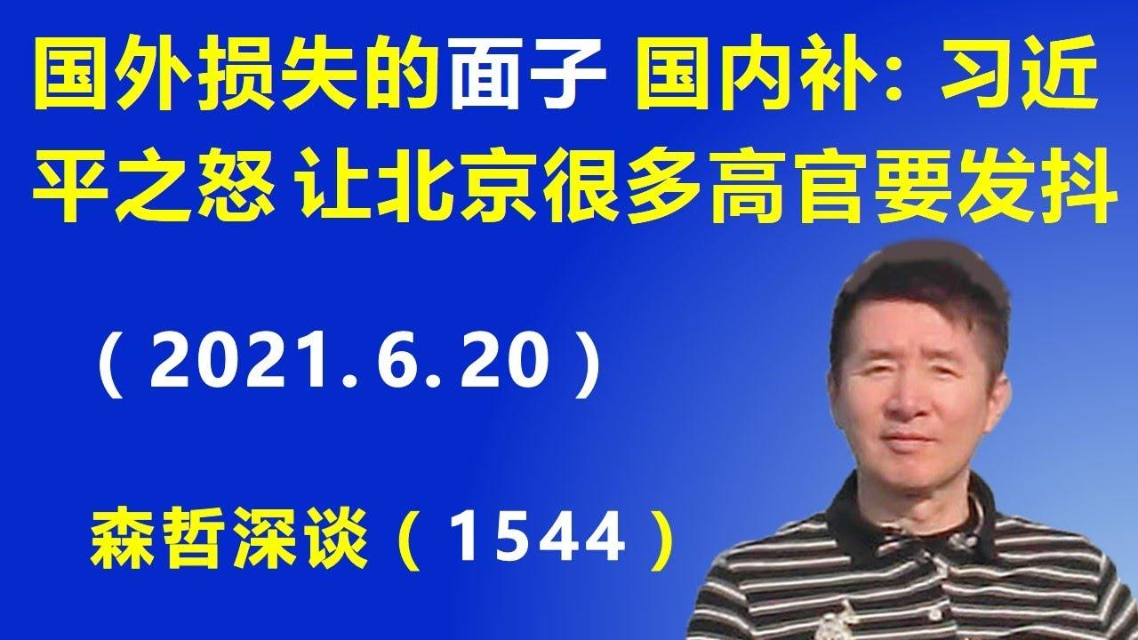 """国外损失的""""面子""""国内补:习近平之怒 让北京很多高官要发抖.(2021.6.20)"""