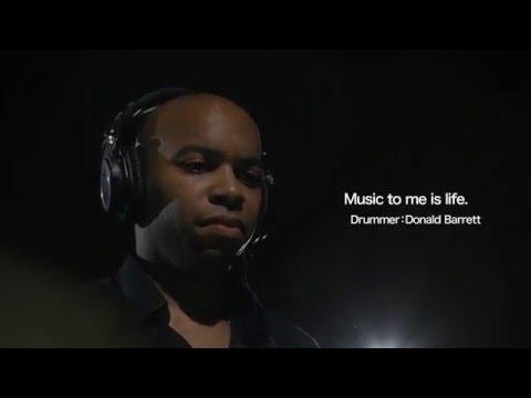 "Audio-Technica presents ""Passion Through Music"" | Drummer Donald Barrett"