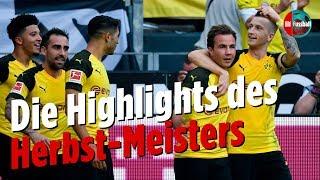Joker-Paco, Tormaschine-Reus, Götze-Comeback | Highlights Borussia Dortmund | Best of Hinrunde