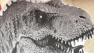 Kricky cake decoration: T-Rex cake LIVE! video
