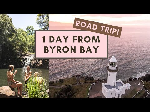 A Byron Bay Roadtrip | Mt.Warning At Sunrise, Nimbin, Waterfalls, Lake Ainsworth + Lennox Head