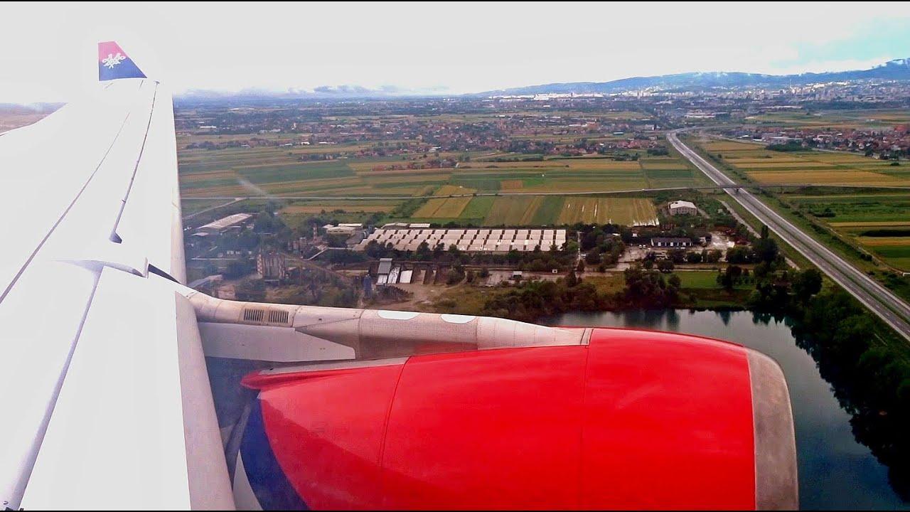 Air Serbia Airbus A330 Yu Ara Landing Zagreb Airport Youtube
