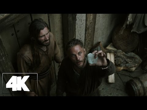 Vikings - the way how to reach the west (he first daring raids into England) | Ultra HD 4K |