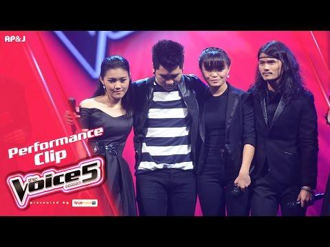 The Voice Thailand 5 - Live Performance - 22 Jan 2017 - Part 4