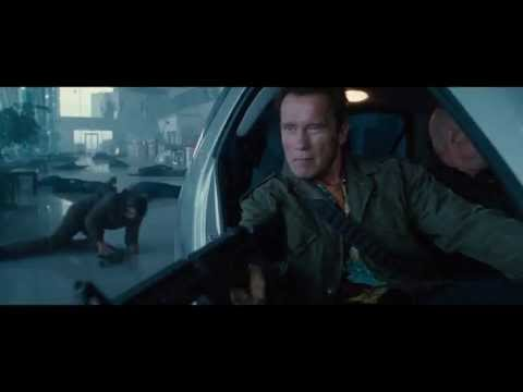 The Expendables 2 - Smart Car Scene (1080p)