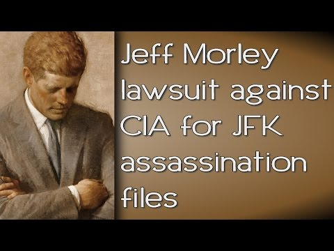 Jeff Morley lawsuit against CIA / JFK assassination files Night Fright Show