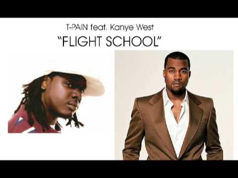 Kanye West - Flight School feat. T-Pain HQ [plus lyrics 2009] NEU